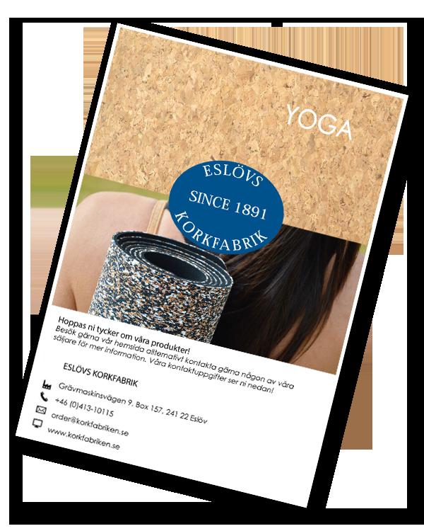 Omslag till Yoga-katalogen